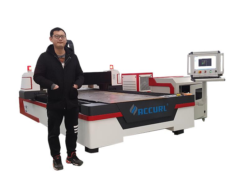 машина за лазерно рязане на метални тръби